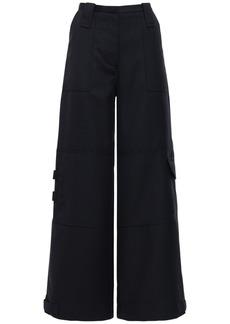 Ganni Wool Blend Suit Pants