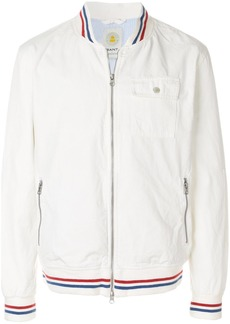 Gant Rugger Baseball bomber jacket - White