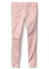 Gap High stretch distressed skimmer jeggings