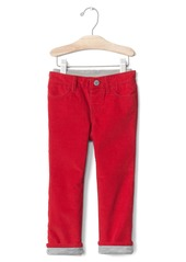 Gap 1969 jersey-lined cords