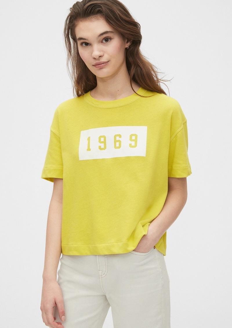 Gap Logo Cropped T-Shirt