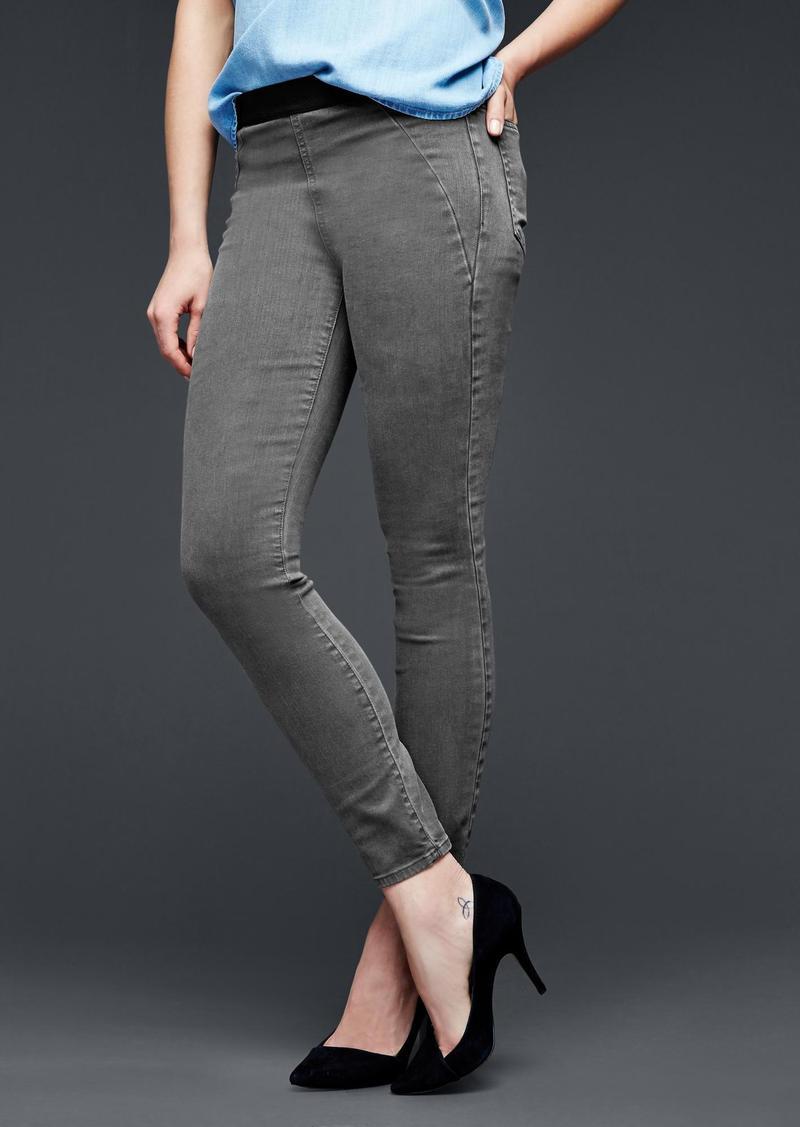 Gap 1969 resolution pull-on seamed legging jeans