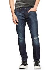 Gap 1969 skinny jeans (Topanga destructed wash)