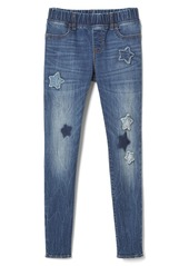 Gap High stretch star patch jeggings