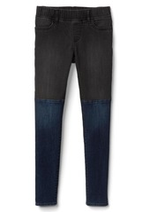 Gap High stretch two-tone jeggings