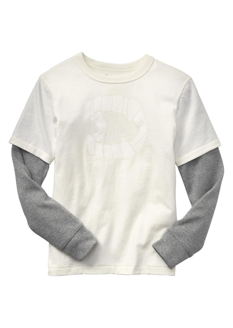gap 2-in-1 halloween graphic tee | tshirts