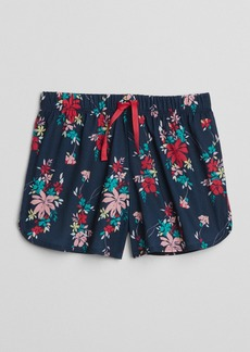 "Gap 2.5"" Tropical Print Sleep Shorts"