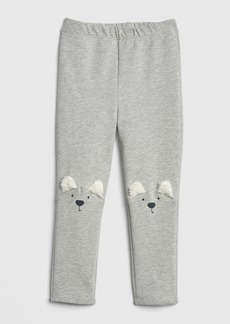 Gap 3D Graphic Leggings in French Terry
