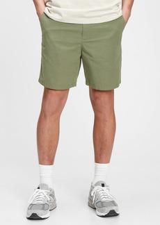 "Gap 7"" Easy Linen Shorts With E-Waist"