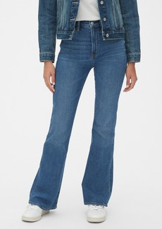 Gap '70s Pioneer High Rise Flare Jeans