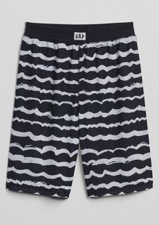 """Gap 8"""" Wave-Stripe Sleep Shorts"""