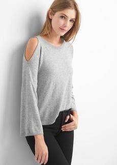 Gap A-line cold shoulder pullover