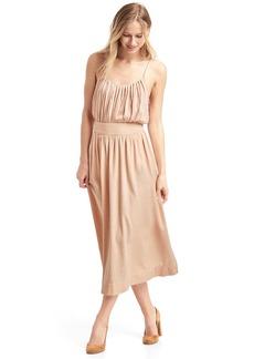 Gap A-line midi skirt