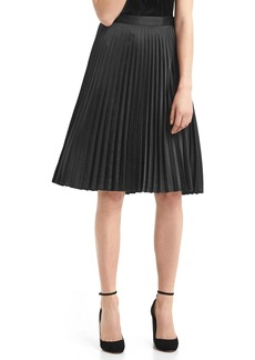 Gap A-line pleat skirt
