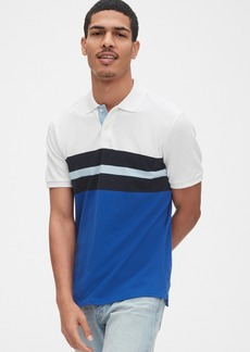 Gap All Day Pique Polo Shirt