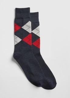 Gap Argyle Crew Socks