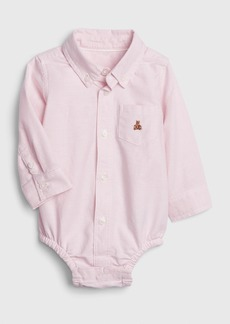 Baby Gap Brannan Bear Polo Bodysuit