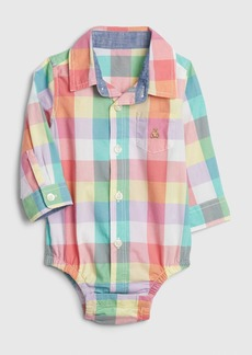 Baby Gap Brannan Bear Polo Bodysuit