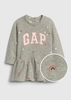 Baby Gap Logo Peplum Dress