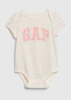 Baby Gap Logo Short Sleeve Bodysuit