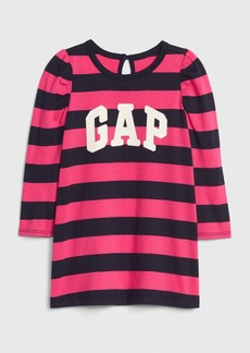Baby Gap Logo Stripe Dress