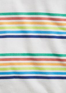 babyGap 100% Organic Cotton Rainbow Stripe PJ Set