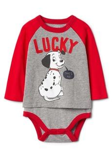 babyGap &#124 Disney Dalmatian raglan body double