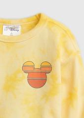babyGap &#124 Disney Mickey Mouse Tie-Dye Print Crewneck Sweatshirt