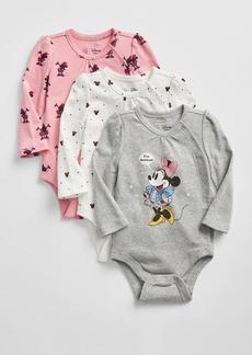 babyGap &#124 Disney Minnie Mouse Bodysuit (3-Pack)