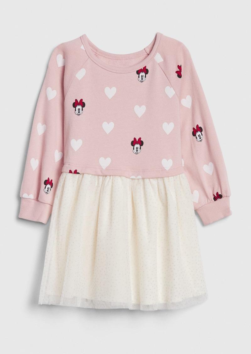 babyGap &#124 Disney Minnie Mouse Mix-Media Dress
