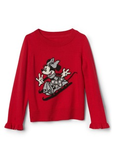 babyGap &#124 Disney Minnie Mouse Ruffle Sweater