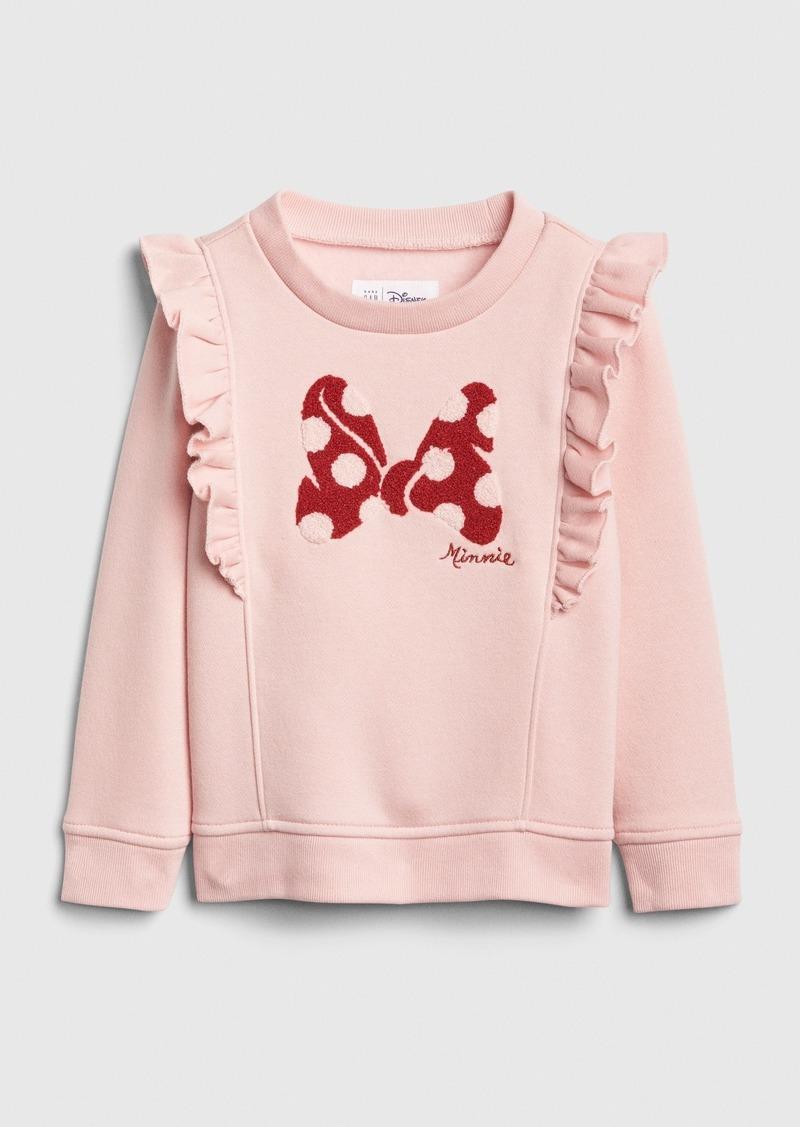 babyGap &#124 Disney Minnie Mouse Ruffle Sweatshirt