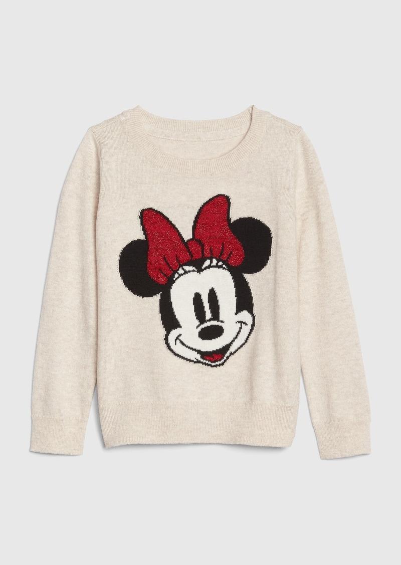 babyGap &#124 Disney Minnie Mouse Intarsia Sweater