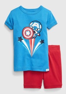babyGap &#124 Marvel Captain America PJ Set