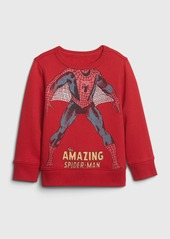 babyGap &#124 Marvel Spider-Man Crewneck Sweatshirt