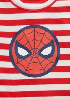 babyGap &#124 Marvel Spider-Man 100% Organic Cotton Stripe PJ Set