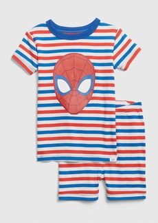 babyGap &#124 Marvel Spider Man Short PJ Set