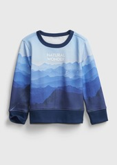 babyGap &#124 National Geographic Recycled Crewneck Sweatshirt