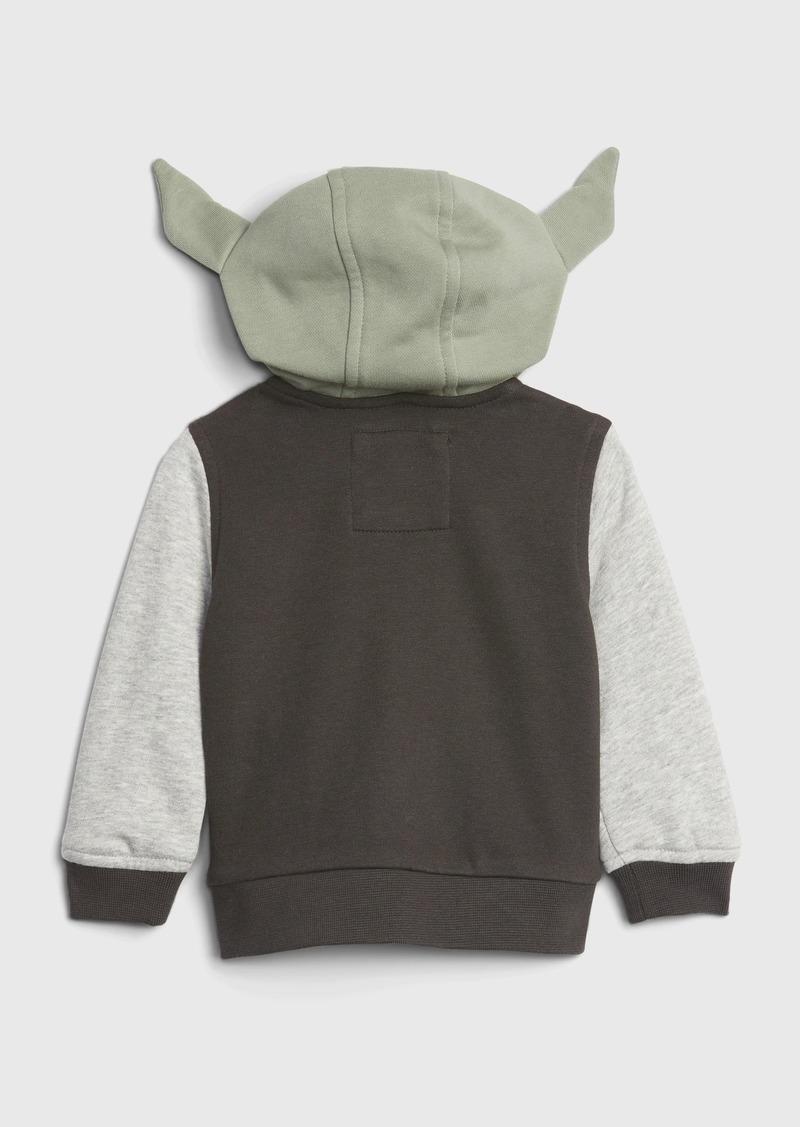 babyGap &#124 StarWars&#153 Yoda Varsity Jacket