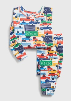 babyGap Automobile Graphic Long Sleeve PJ Set