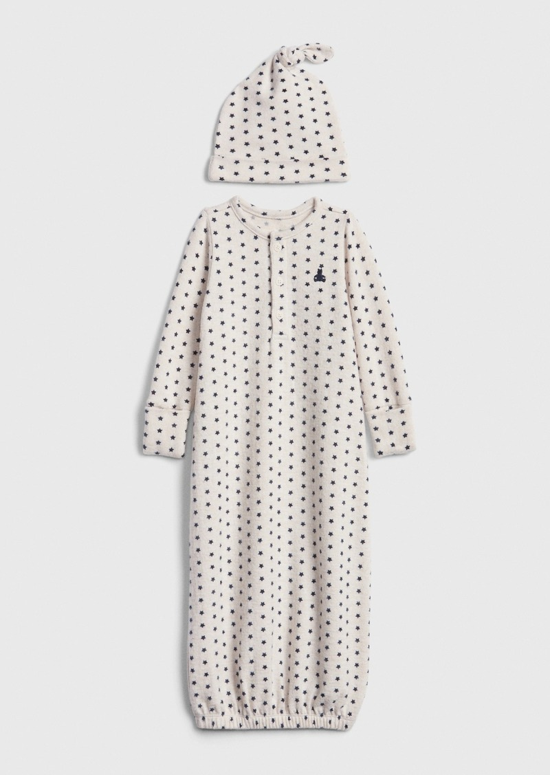 babyGap Brannan Bear Softspun PJ Gown Set