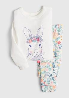 babyGap Floral Bunny PJ Set
