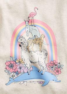 babyGap 100% Organic Cotton Animal PJ Set