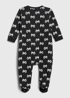 babyGap Organic Footed One-Piece