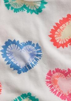 babyGap 100% Organic Cotton Heart Tie-Dye PJ Set