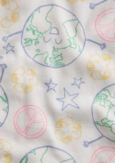 babyGap 100%  Organic Cotton Recycle Graphic PJ Set