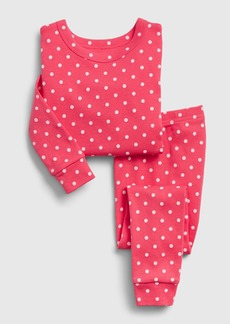 babyGap Polk-a-dot Long Sleeve PJ Set