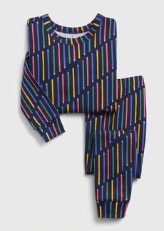 babyGap Stripe Long Sleeve PJ Set