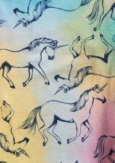 babyGap Tie-Dye Unicorn Graphic PJ Set