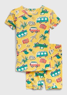 babyGap Travel Graphic Short PJ Set
